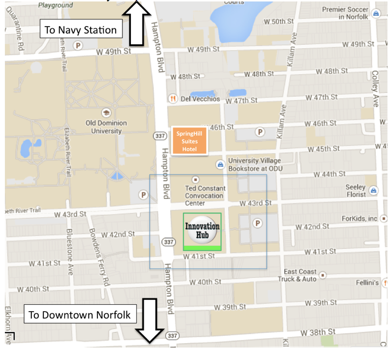 Old Dominion Campus Map.Nato Innovation Directions To The Innovation Hub